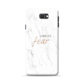 Embrace Fear Marble Samsung Galaxy J7 Prime / On7 (2016) Case