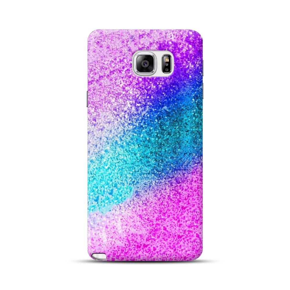 promo code ea937 cd32b Rainbow Glitter Samsung Galaxy Note 5 Case
