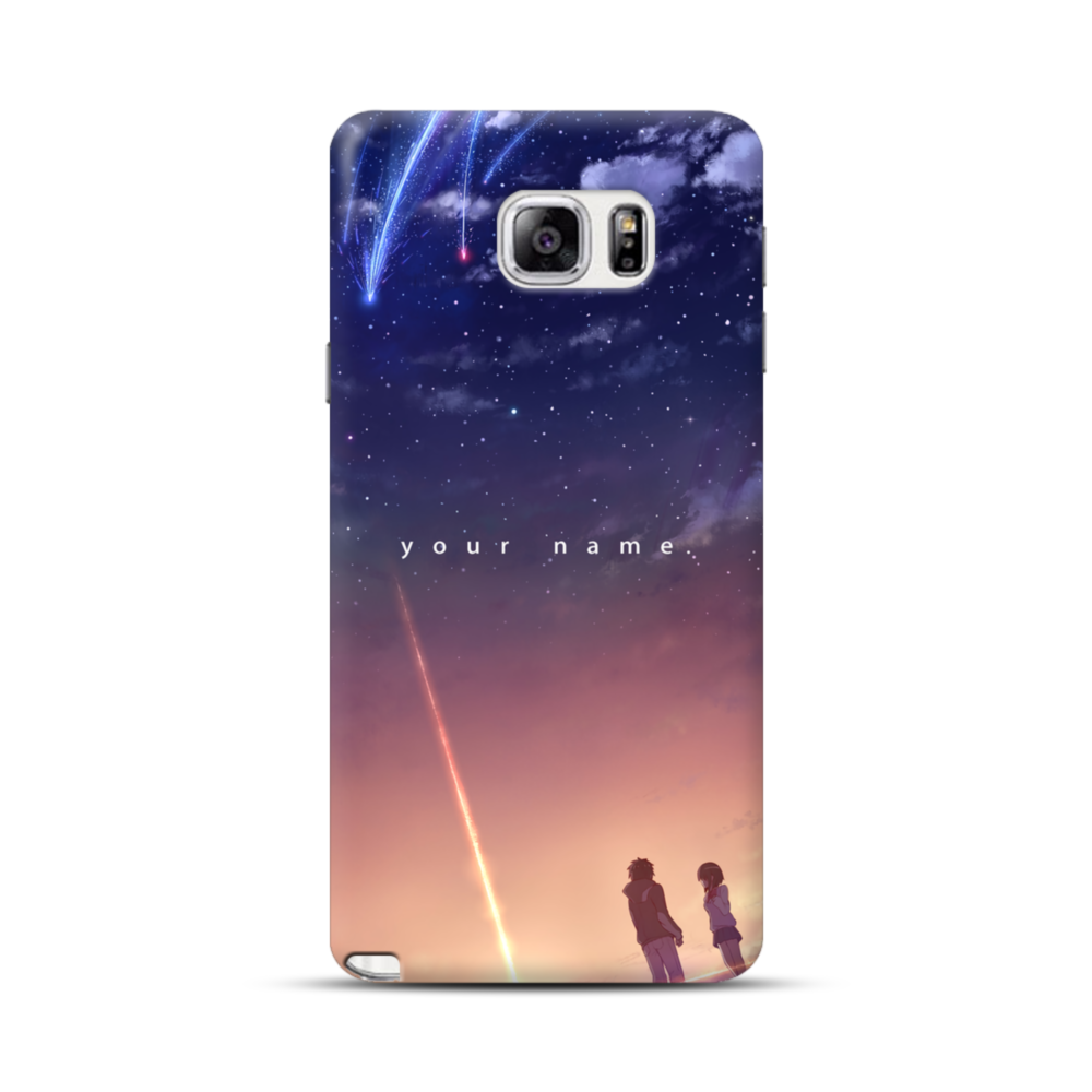 new arrival 59566 eec5a Your Name Anime Samsung Galaxy Note 5 Case