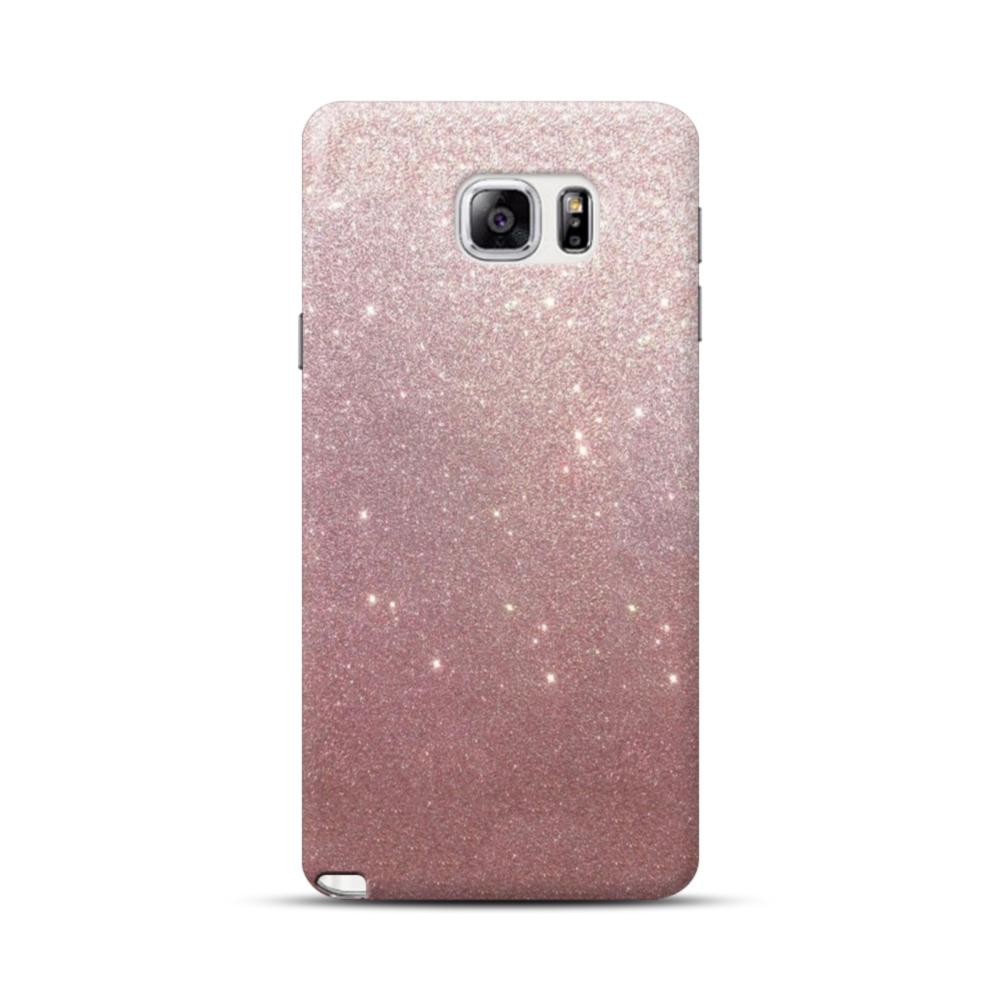 lowest price ebc59 9a787 Rose Gold Glitter Samsung Galaxy Note 5 Case