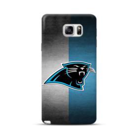 Carolina Panthers Logo Grunge Mesh Samsung Galaxy Note 5 Case