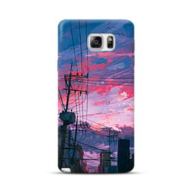 Sunset Houses Samsung Galaxy Note 5 Case