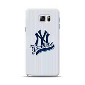 New York Yankees Vertical Lines Samsung Galaxy Note 5 Case