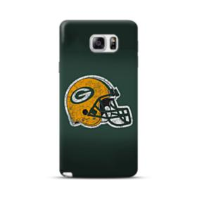 Green Bay Packers Helmet Crack Samsung Galaxy Note 5 Case