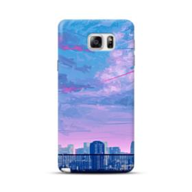 Sunset City Sky Samsung Galaxy Note 5 Case