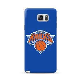 New York Knicks Team Logo Basketball Samsung Galaxy Note 5 Case