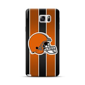 Cleveland Browns Logo Vertical Stripes Samsung Galaxy Note 5 Case