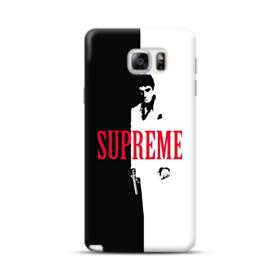 Vintage Supreme Black and White Man Samsung Galaxy Note 5 Case