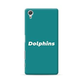 Dolphins Logo Green Sony Xperia X Performance Case
