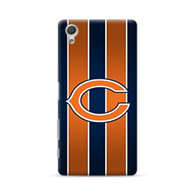 Chicago Bears Vertical Stripes Sony Xperia X Performance Case