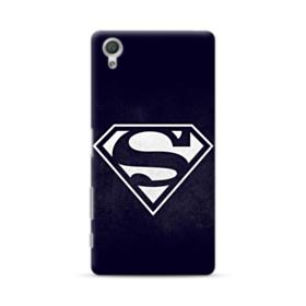 Black Superman Logo Sony Xperia X Performance Case