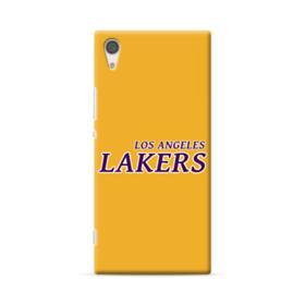 Los Angeles Lakers Jersey Logo Sony Xperia XA1 Ultra Case