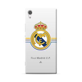Real Madrid Team Logo Gray Sony Xperia XA1 Ultra Case