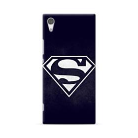 Black Superman Logo Sony Xperia XA1 Ultra Case