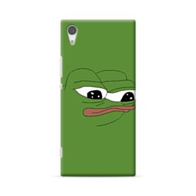 Sad Pepe frog Sony Xperia XA1 Plus Case