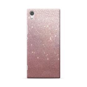 Rose Gold Glitter Sony Xperia XA1 Plus Case