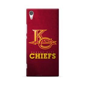 Kansas City Chiefs Logo Grunge Sony Xperia XA1 Plus Case