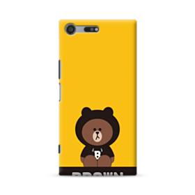 Line Friends Brown Give You Luck Sony Xperia XZ Premium Case