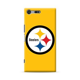 Pittsburgh Steelers Team Logo Round Sony Xperia XZ Premium Case
