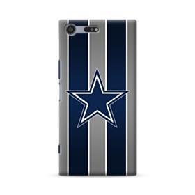 Dallas Cowboys Team Logo Vertical Stripes Sony Xperia XZ Premium Case