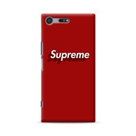 Supreme Red Cover Sony Xperia XZ Premium Case