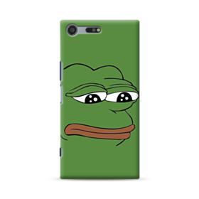 Sad Pepe frog Sony Xperia XZ Premium Case