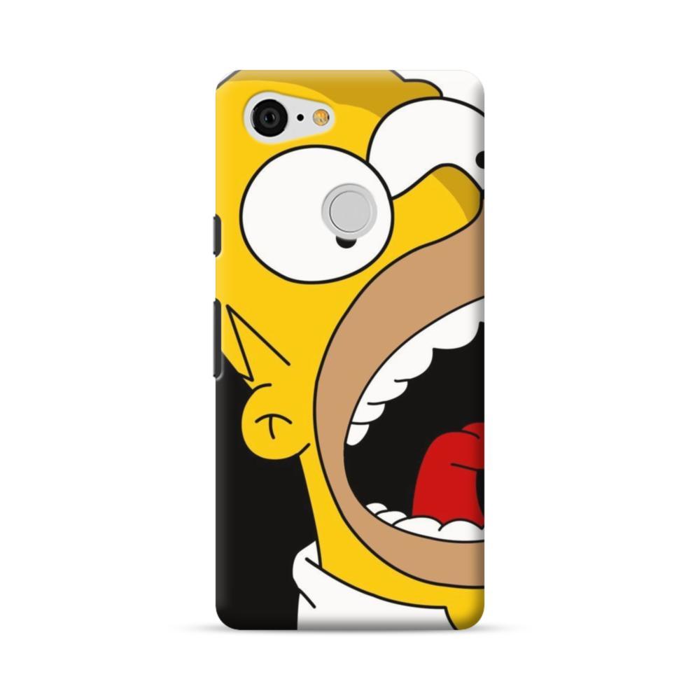 Simpsons Shout Google Pixel 3 Case Caseformula