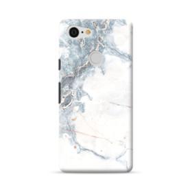 Blue Clouded Marble Google Pixel 3 Case