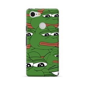 Sad Pepe frog seamless Google Pixel 3 Case
