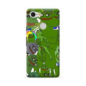 Rare pepe the frog seamless Google Pixel 3 Case