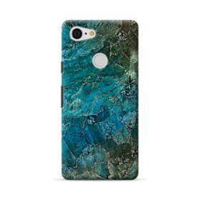 Green Marble Google Pixel 3 Case