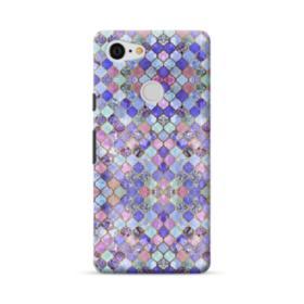 Purple Moroccan Tiles Google Pixel 3 Case