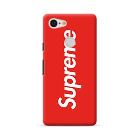 Red Supreme Google Pixel 3 Case