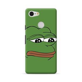 Sad Pepe frog Google Pixel 3 Case
