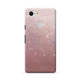 Rose Gold Glitter Google Pixel 3 Case