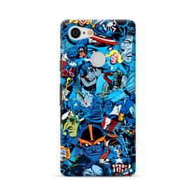 Marvel Superheroes Google Pixel 3 Case