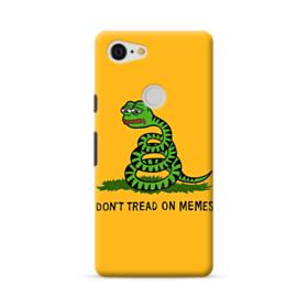 Pepe the frog don't tread on memes Google Pixel 3 XL Case
