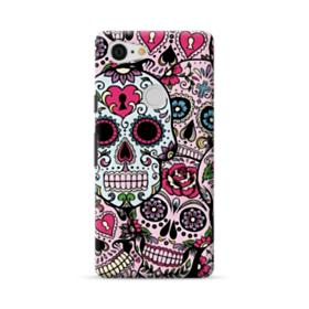Sugar Skulls Hydro Dipping Pattern Google Pixel 3 XL Case
