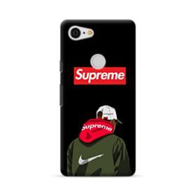 Supreme x Nike Hoodie Google Pixel 3 XL Case
