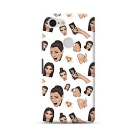 Kim Kardashian Emoji Kimoji seamless Google Pixel 3 XL Case