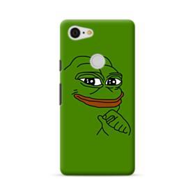Smug Pepe Frog Funny Meme Google Pixel 3 XL Case