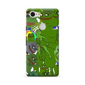 Rare pepe the frog seamless Google Pixel 3 XL Case