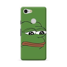 Sad Pepe frog Google Pixel 3 XL Case