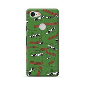 Sad Pepe frog seamless Google Pixel 3 XL Case
