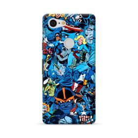 Marvel Superheroes Google Pixel 3 XL Case