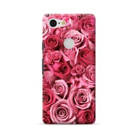 Romantic Rose Pattern Google Pixel 3 XL Case