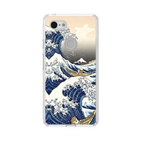 Waves Google Pixel 3 XL Clear Case