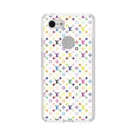 Louis Vuitton Multicolor Light Google Pixel 3 XL Clear Case