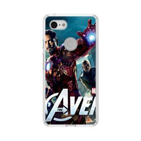 Dazzling Avengers Google Pixel 3 XL Clear Case