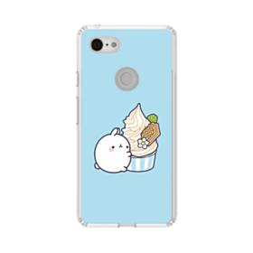 Molang Ice Cream Google Pixel 3 XL Clear Case